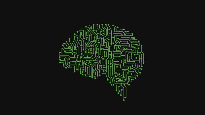 Vergleichbar mit einem menschlichen Gehirn (Grafik: Technology vector created by Freepik)