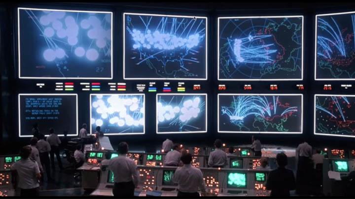 """WOPR, auch """"Joshua"""" genannt (Filmbild: """"WarGames - Kriegsspiele"""" / Twentieth Century Fox)"""