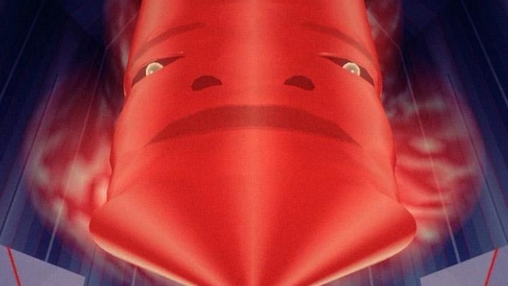 "Das MCP - Master Control Program mit Doppelkinn (Filmbild: ""Tron"" / Walt Disney)"