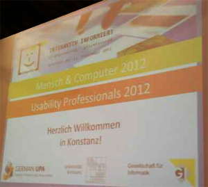 Mensch und Computer 2012 in Konstanz